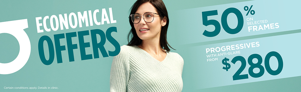 Discount on frames, glasses rebate, progressive lenses low price, progressive lens price