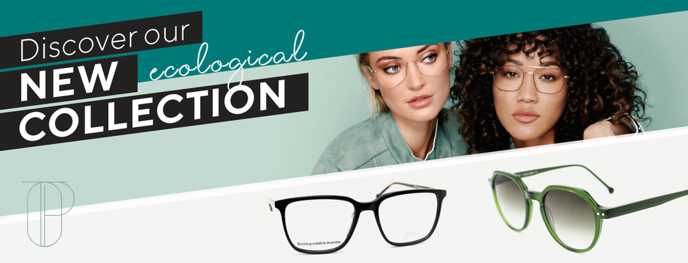 new ecological eyeglasses frames, ecoresponsible